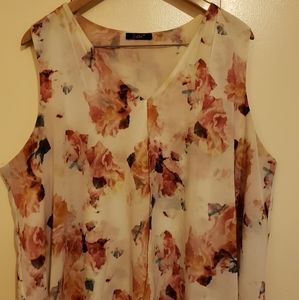 Beautiful floral blouse